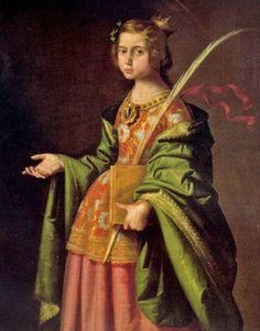 It's About Time: The Female Saints of Francisco de Zurbarán 1598–1664