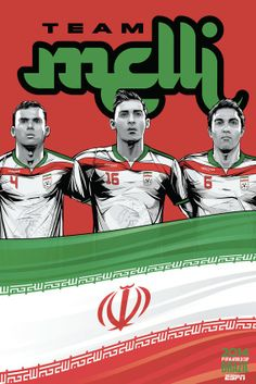 "Iran, ""Team Melli""  Like other teams in the World Cup, ""Team Melli"" simply means ""National Team.""  