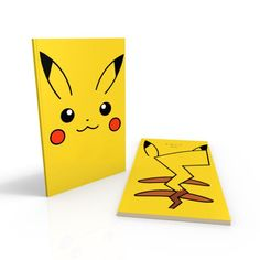 "Pikachu Notebook by Kuhlnotes. Open for customization requests  SIZE: 4.5"" x 6.5""  SOFT COVER GLOSS 100 PAGES:  LINED ($8) / BLANK ($8) / WEEKLY PLANNER ($10)   HARD COVER GLOSS 180 PAGES: LINED ($16) / BLANK ($16) / WEEKLY PLANNER ($20)  NORMAL MAIL: FREE REGISTERED MAIL: $2.20 AM MAIL (NEXT DAY DELIVERY ): $3 COLLECTION: ONCE A WEEK AT ORCHARD   Tags: Pokemon, Charmander"