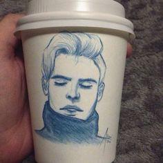 EatSleepDraw • coffee on a
