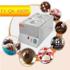 3PC FY-QK-480M Hot Sale Double-cylinder Electric Chocolate Fountain Fondue Hot Chocolate Melt Pot melter Machine //Price: $US $477.00 & FREE Shipping //     #cleaningappliances