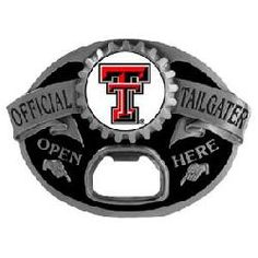 Texas Tech Red Raiders Tailgater Belt Buckle