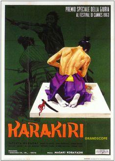 切腹 / Harakiri (1962) Italian poster