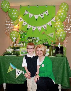 Golf party!!! Great for a boy baby shower or a little boys birthday party!!