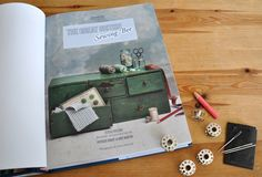 The Great British Sewing Bee Book – Beautifully illustrated with Vintage Sewing imagery www.cloth-ears.co.uk