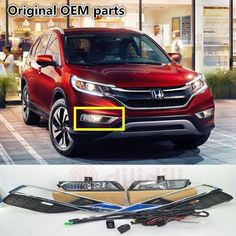 (200.00$)  Watch now - http://ai2im.worlditems.win/all/product.php?id=32659362375 - NEW OEM  Fog Light Lamp & wiring harness Switch Kit  for Honda CR-V CRV  08V31-T0A-100D 2015-
