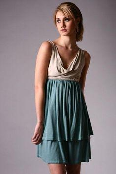 empire waist dress - great for pregnancy