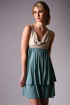 empire waist dress - great for pregnancy