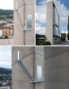 Stairway to Heaven, a concept design by Sabina Lang & Daniel Bauman. I don't think it would pass safety codes. amazing !