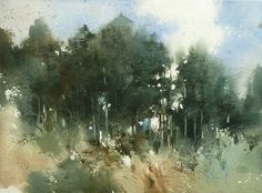 Watercolor by Chien Chung-Wei