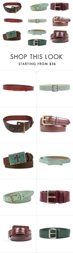 BELTS by fultonhoward on Polyvore featuring Louis Vuitton, Oscar de la Renta, Prada, Orciani, Kate Spade, Calvin Klein, Max&Co., Nocona and FOSSIL