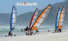 Windsurfing on wheels- Muizenberg beach
