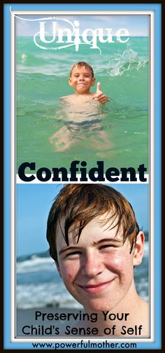 Ever wonder how to preserve your child's uniqueness and boost their confidence at the same time? Here's some easy steps every Mother can use! #Kids #Mothers #Confidence
