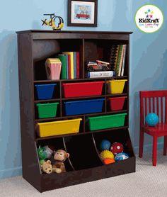 Walnut Kids storage center