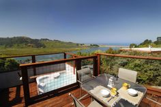 Entire home/apt in Jenner, US. River Sea Cottage (a former fishing cottage) offers panoramic Russian River estuary and Pacific Ocean Views from the main living and outdoor deck. Access and Main living all on one level. Rest and Relaxation by the Sea.