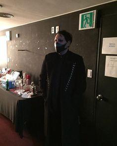 Marilyn Manson Brian Warner mask icemftmm.tumblr.com