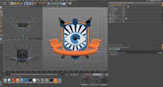 Create 2D Stylized Animated Banners in C4D