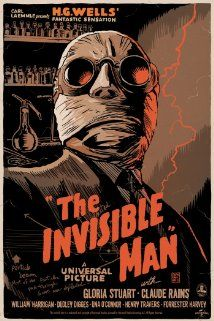 The Invisible Man - Universal Horror from 1933.  Classic.