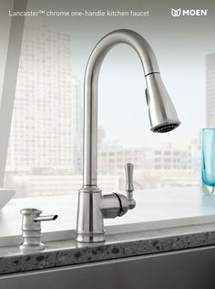 The Lancaster faucet, exclusive to Menards. #windowwednesday