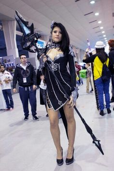 Aion cosplay cleric