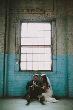 Industrial Maine Wedding at The Portland Company