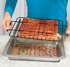 Healthy Bacon Pan @ Harriet Carter