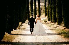 Romantic wedding photography in Tuscany