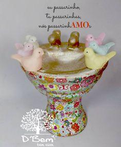 pia em cerâmica- estilo vintage produzida por D'Bem-bem viver  www.dbembemviver.com.br https://www.facebook.com/dbemviver