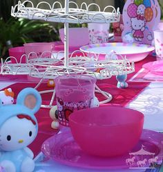 Hello Kitty theme party hire package for children in Perth, WA