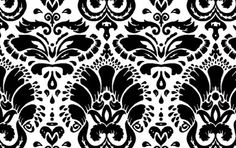 I'd love damask for our living room! Just one wall.