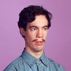 Dork mustache
