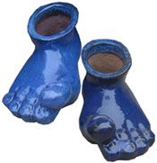 Custom and Imported Glazed Ceramics, Italian, Chinese and Vietnam Black Clay