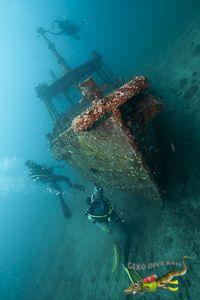 Fun Diving Wreck in Jepun Dive Site from Padang Bai, Bali, Indonesia  (http://gekodivebali.com)
