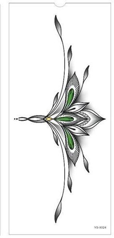 Chest or Sternum Temporary Tattoo #tattoos #ThighTattooIdeas