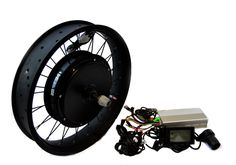 "1000W 48V 20"" x 3 Electric Rear Hub Motor Kit LCD Display"
