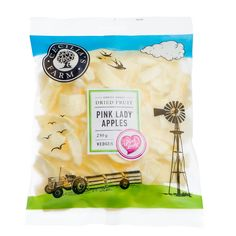 Pink Lady apples are highly sought after blushed apples that are loved for their amazing sweetness and crunchy texture. We are currently the only brand that offers authentic dried Pink Lady apples in our range - look out for the Pink Lady heart logo on the pack that guarantees these are genuine Pink Lady apples. http://ceciliasfarm.co.za/product/pink-lady-apple-wedges-2/