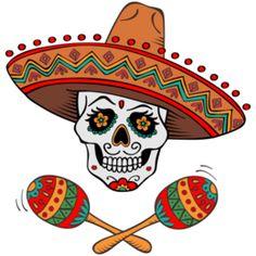 Sugar Skull Artwork, Sugar Skull Painting, Halloween Season, Halloween Themes, Halloween Decorations, Caveira Mexicana Tattoo, Sugar Skull Design, African Crafts, Day Of The Dead Art
