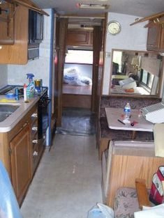 Affordable RV Makeover - Inexpensive Camper Remodeling Ideas by faye