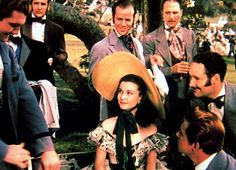 Vivien Leigh in Gone With the Wind via @WhoWhatWear