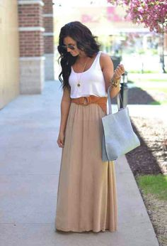81b54d4b This adorable maxi skirt (belt included) is available at Apricot Lane Peoria!  Call to place a phone order we SHIP!