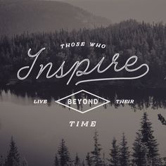 Inspire – typography quote print by Jeremy Vessey #design #inspiration