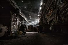 A Country Left In Ruins: Pictures Of Belgium's Abandoned Places pics) Website Hits, Abandoned Warehouse, Urban Exploration, Bored Panda, Abandoned Places, Prints For Sale, Sunrise, Industrial, Leaves