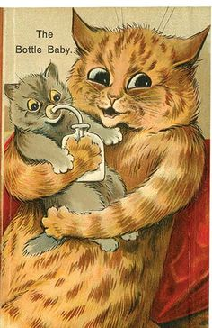 The Bottle Baby, Louis Wain