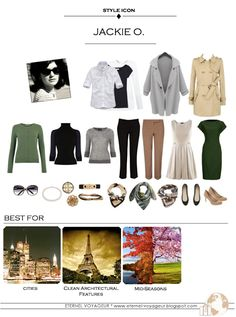 Capsule wardrobe idea inspired by style icon Jackie O. by Eternel Voyageur Capsule Wardrobe Mom, Core Wardrobe, Wardrobe Basics, Wardrobe Staples, Jackie Kennedy Style, How To Have Style, Mein Style, Minimalist Wardrobe, Mode Inspiration