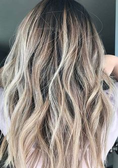Great hair colors for long haircuts is beautiful beach blonde hair color trends to wear in 2018. This is also one of the top hair hair colors in 2018. See here how to select this amazing hair color if you love to keep long hair in 2018.