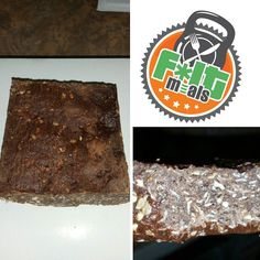 Really been eating perfect and killing cardio but craving something sweet today. So had a brownie. YES a brownie!!! Not an ordinary brownie but a Triple Chocolate Protein Brownie from @f.itmeals . These are really dense brownies with chocolate protein powder oat flour 100% dark chocolate chips and cocoa powder.  Best part fat 9.6 g calories 188 carbs 15.4g and protein 13.1 g. It was so filling I could only eat half so 4.8 g fat 94 calories  7.7 carbs and 6.5g protein. One order is four…