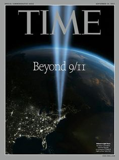 Today we'll be posting a series of magazine covers from last year's 10th anniversary of 9/11.  Time, September 19, 2011. Art director: D.W. Pine.
