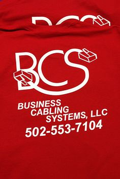 Business Cabling Systems, LLC #ScreenPrinted shirts. Need custom Screen Printing or #Embroidery contact us at www.printex-usa.com or give us a call at 800-642-4949 to discuss your needs.