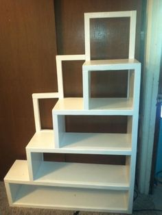 Loft bed storage staircase