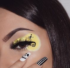 Are you looking for inspiration for your Halloween make-up? Check this out for creepy Halloween makeup looks. : Are you looking for inspiration for your Halloween make-up? Check this out for creepy Halloween makeup looks. Makeup Eye Looks, Eye Makeup Art, Crazy Makeup, Skin Makeup, Eyeshadow Makeup, Makeup Inspo, Makeup Ideas, Makeup Hacks, Makeup Goals